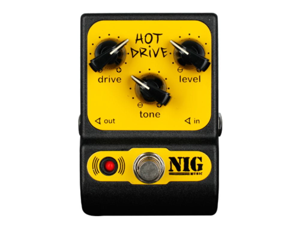 Pedal Overdrive p/ Guitarra Nig Hot Drive PHD