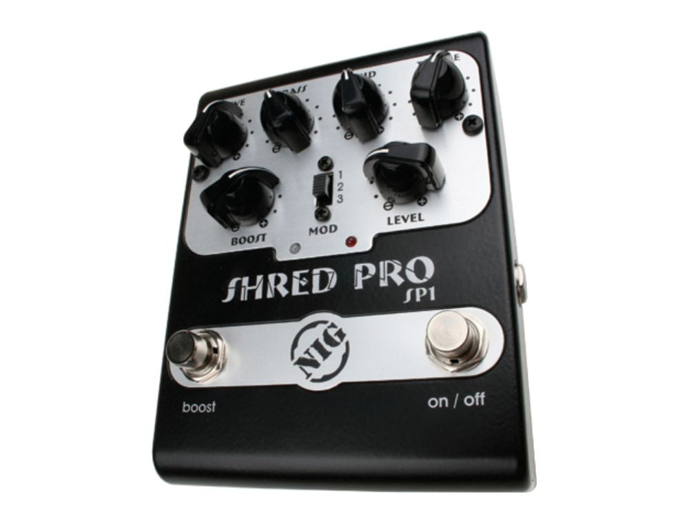 Pedal de Distorção p/ Guitarra Nig Shred Pro SP1