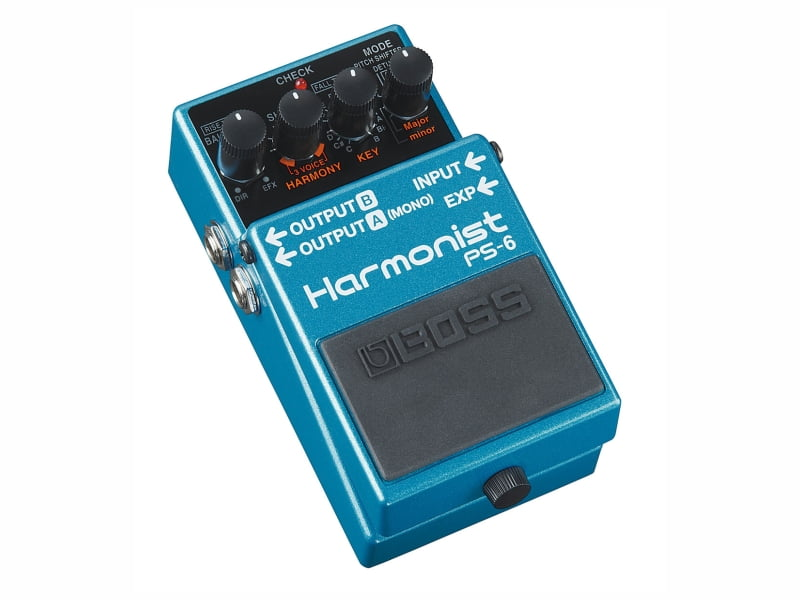 Pedal para Guitarra Boss Harmonist PS-6