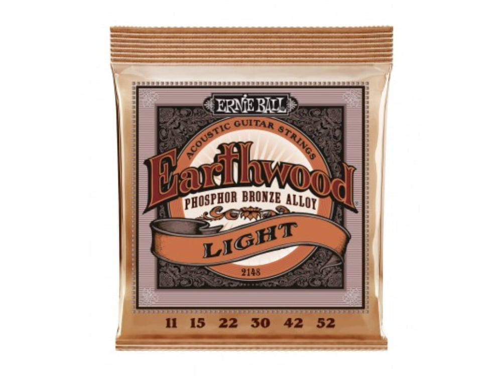 Encoradoamento para Violão .011 Ernie Ball Phosphor Bronze Light Ref. 2148