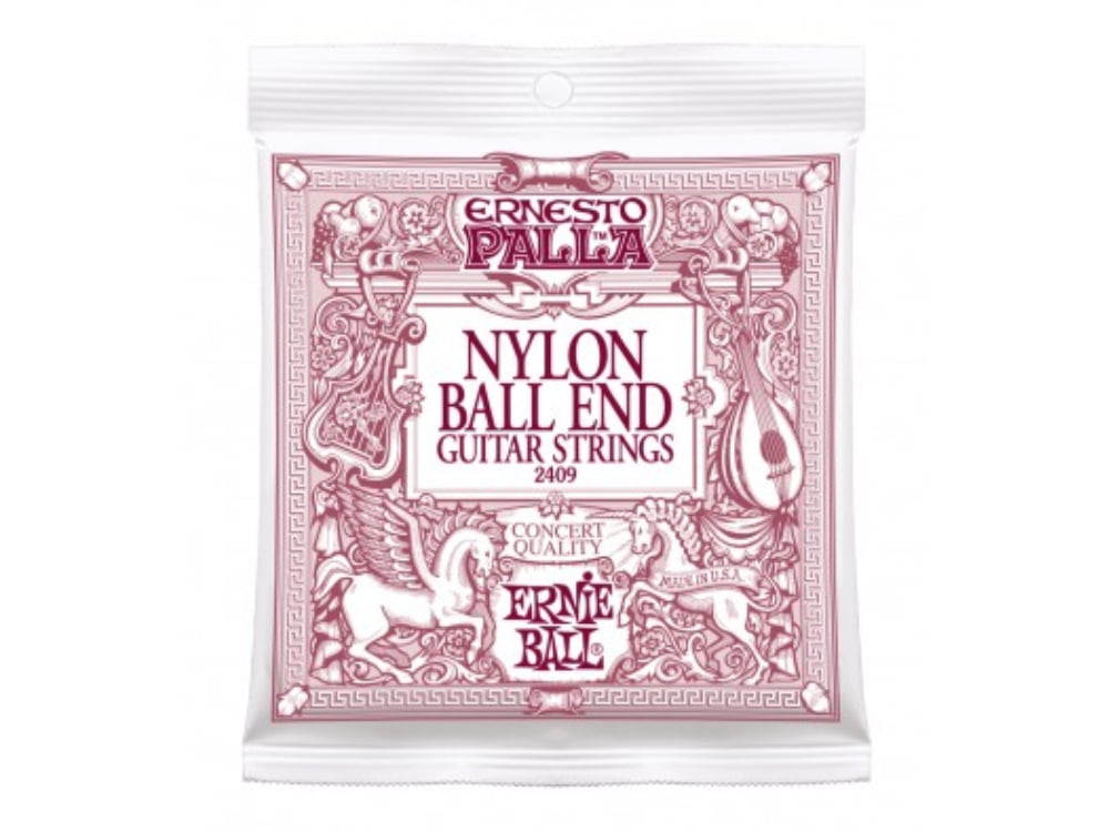 Encoradoamento para Violão Nylon Cristal Ernie Ball Ernesto Palla Classical Ball End Ref. 2403