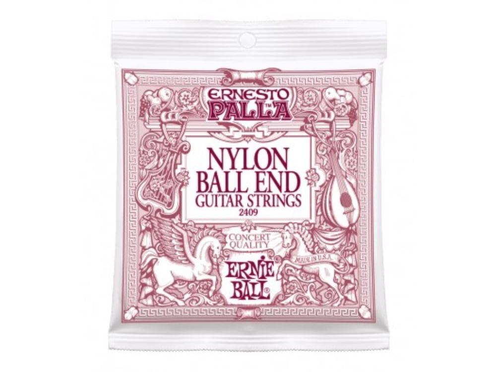 Encordoamento para Violão Nylon Cristal Ernie Ball Ernesto Palla Classical Ball End Ref. 2403