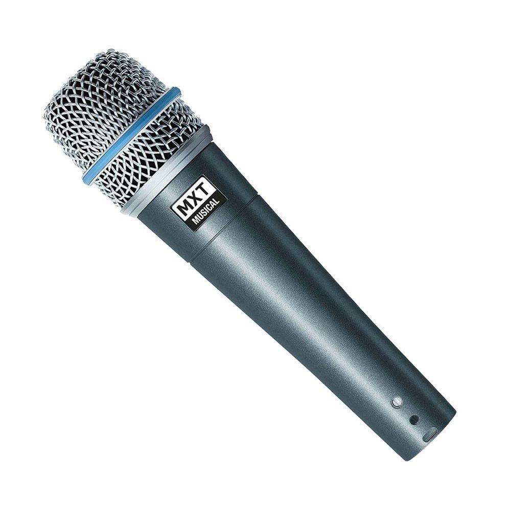 Microfone MXT BTM-57A com cabo Ref. 54.1.115