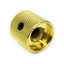Knob Metal Encaixe s/Parafuso Dourado Ref. 253