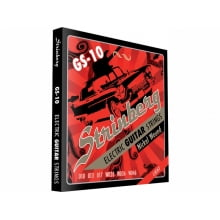 Encordoamento para Guitarra .010 Strinberg Light GS-10