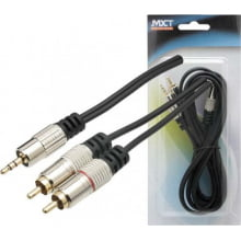 Cabo MXT P2 Stereo + 2 RCA 1,8 m Profissional Ref. 8.1.629