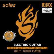 Encordoamento p/Guitarra 010 SOLEZ SLG-10