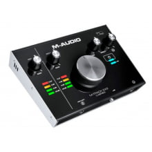 Interface de Áudio USB M-ÁUDIO M-track 2x2