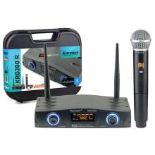 Microfone sem Fio de Mão Karsect KRD-200R