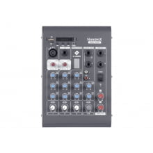 Mixer LL Áudio Nanomix de 4 canais com Bluetooth CDX 502
